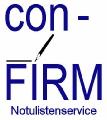 Notulistenservice ConFirm